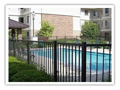 Aluminium Mesh Fence for Swimming Pool