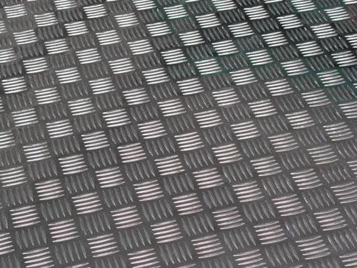Aluminium Checkered Plate Diamond Plate Stair Tread