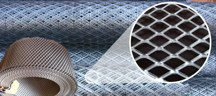 Aluminum Expanded Mesh Sheet For Architectural Cladding