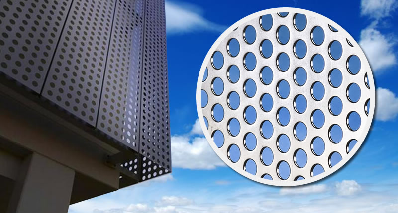 Aluminum Perforated Sheet For Architectural Ceiling And