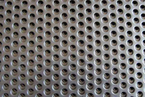 Round Slot Perforated Sheet