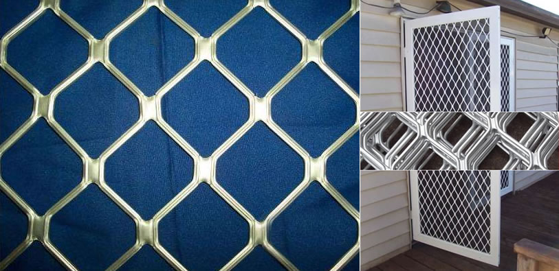 Aluminum Expanded Mesh Sheet for Architectural Cladding and
